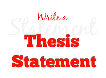 How to write The Thesis Statement of Your Research Paper
