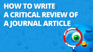 How to write a Journal critical Review