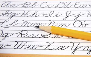 Cursive Writing Guide