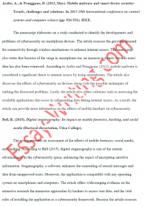 Annotated Bibliography in APA Format Sample 2